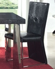Modern Black Dining Chair Cruz European Design Spain 33D73 (Set of 2)