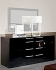 Modern Black Finish Dresser Made in Italy 44B115B