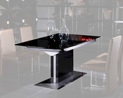 Modern Black High Gloss Dining Table 44D265BG
