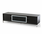 Modern Black High Gloss TV Stand 44ENT30F-BLK