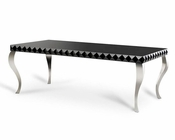 Modern Black Lacquer Dining Table 44D208-BLK
