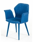 Modern Blue Fabric Dining Chair 44D8160CH
