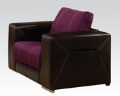 Modern Chair Brayden Purple by Acme Furniture AC51682