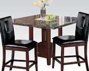 Modern Counter Height Set Danville by Acme Furniture AC01280SET