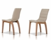 Modern Curvy Design Dining Chair 44D8992CH (Set of 4)