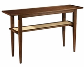 Modern Danish Sofa Table Mid Century by Hekman HE-951309MW