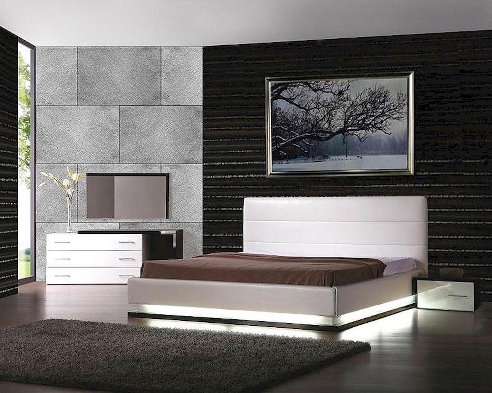 Beautiful platform bedroom sets images for New style bedroom sets