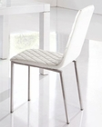 Modern Dining Chair in White European Design 33D163 (Set of 4)