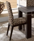 Modern Dining Chair Irene in Fume Beige Finish 33222IE (Set of 2)