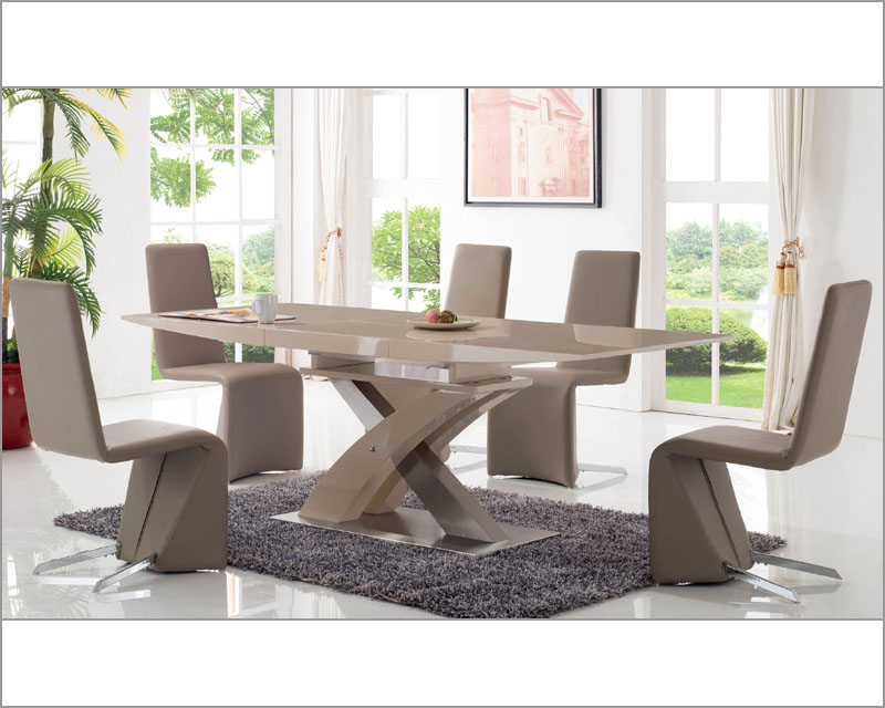Modern dining room set 33 2122set for Modern dining rooms sets