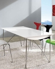 Modern Dining Table in White 33B562