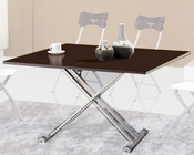 Modern Dining Table w/ AadjusTable Base 33D482