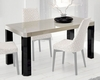 Modern Dining Table w/ Extension Made in Spain Zara 33221ZR