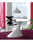Modern Dining Table w/ Glass Top 33B442