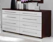 Modern Double Dresser Penelope and Luxury Combo 33150PL