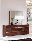 Modern Dresser and Mirror Caprice European Design Made in Italy 33B514