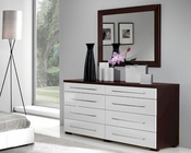 Modern Dresser and Mirror Penelope and Luxury Combo 33190PL