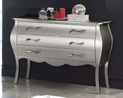 Modern Dresser Lolita in Silver Finish Made in Spain 33B285