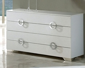 Modern Dresser Valencia in White Made in Spain 33B245