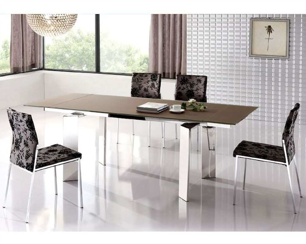 Modern Expandable Dining Set European Design 33d171