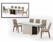 Modern Extendable Dining Set 44D2361XT-SET