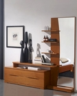 Modern Fancy Dresser in Light Cherry Finish Made in Spain 33B207