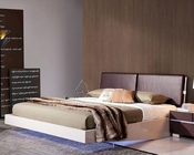Modern Floating Bed with LED Lights 44B168BD