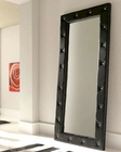 Modern Floor Mirror Sevilla in Black Made in Spain 33B263