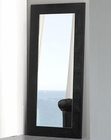 Modern Floor Mirror Valencia in Black Made in Spain 33B257
