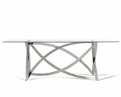 Modern Glass Dining Table 44DCT1201