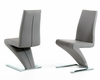 Modern Grey Dining Chair 44D034-GRY (Set of 2)