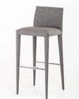 Modern Grey Fabric Bar Stool 44BR8219