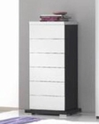 Modern High Gloss Finish Chest Made in Italy 44B2519