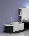 Modern High Gloss Finish Nightstand Made in Italy 44B2513