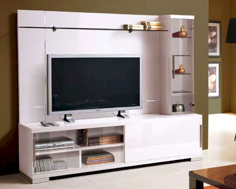 Modern Furniture Entertainment Center italian entertainment center in white 33e21