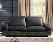 Modern Italian Leather Sofa ESF8001S