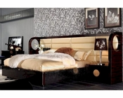 Modern Leather and Lacquer Bed 44B194BD