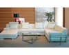 Modern Bonded Leather Sectional Sofa 44L6063
