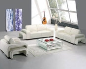 Modern Leather Sofa Set 44LA32