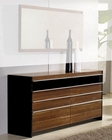 Modern Light Walnut Finish Dresser Made in Italy 44B6715