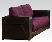 Modern Loveseat Brayden Purple by Acme Furniture AC51681
