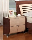 Modern Made in Italy Two Tone Nightstand 44B4213