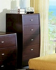Modern Made in Italy Wenge Finish Drawer Chest 44B5819