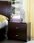 Modern Made in Italy Wenge Finish Nightstand 44B5813