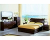 Modern Made in Italy Wenge Finish Storage Bedroom Set 44B5811