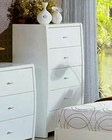 Modern Made in Italy White Finish Drawer Chest 44B5819W