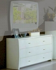 Modern Made in Italy White Finish Dresser 44B5815W