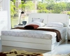Modern Made in Italy White Finish Storage Bed 44B5812W