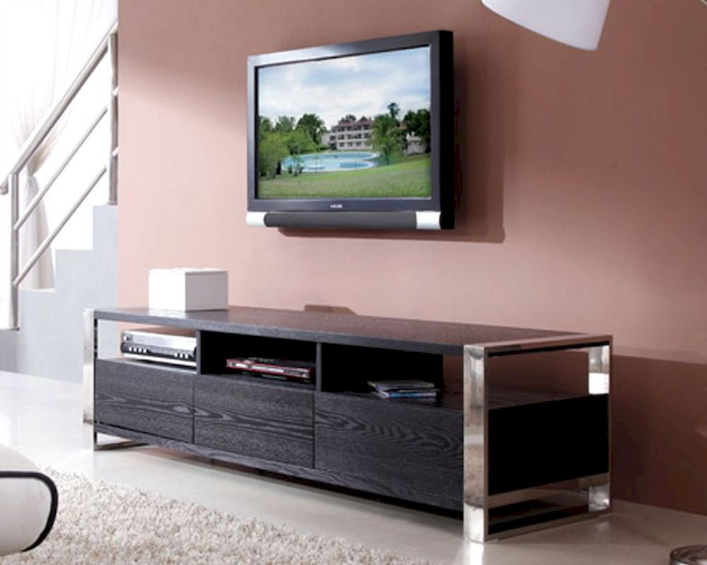 image gallery modern media console. Black Bedroom Furniture Sets. Home Design Ideas