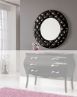Modern Mirror in Black 33C103